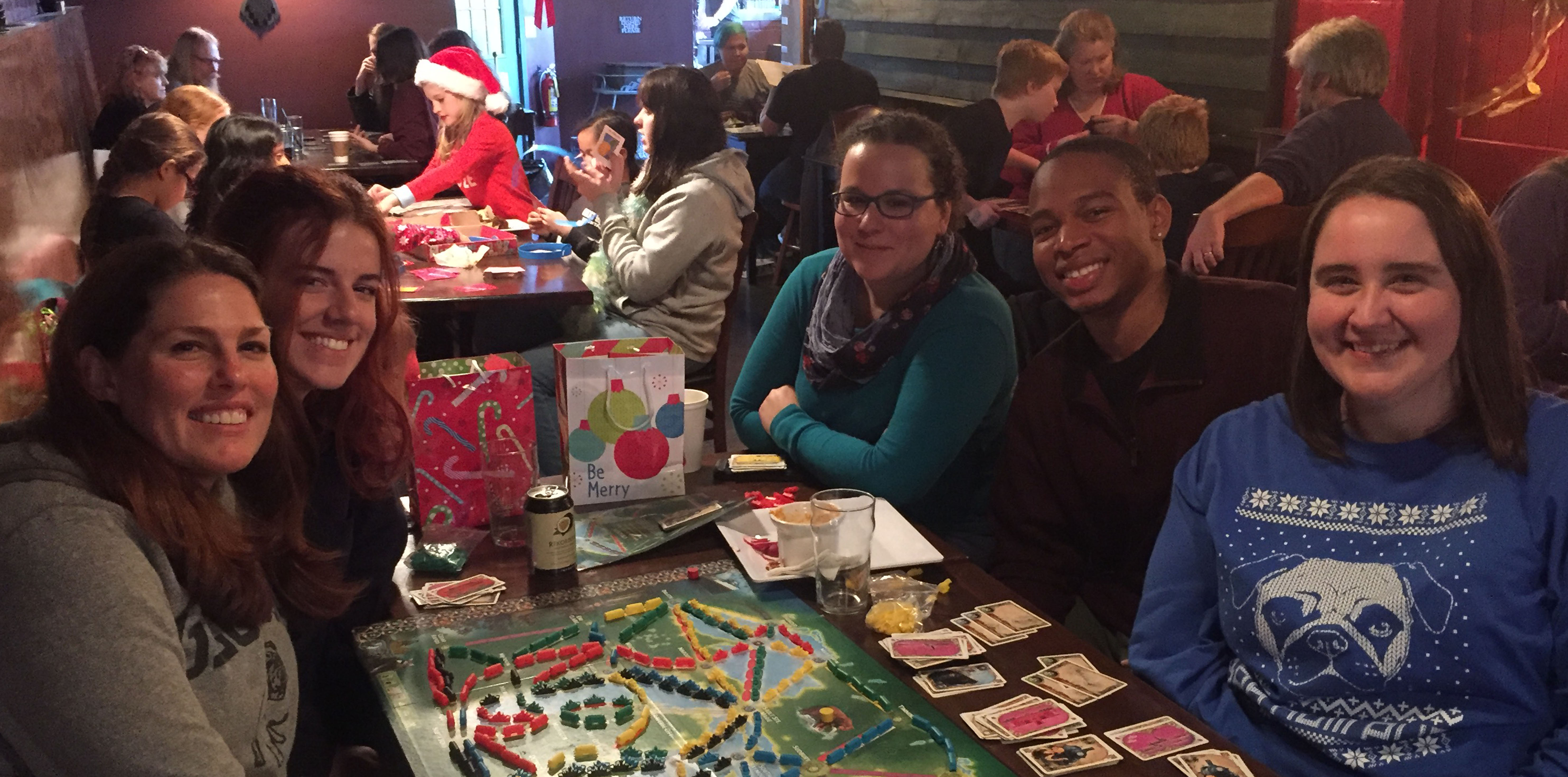 Capps Lab Annual Holiday Celebration